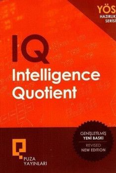 Puza Yayınları YÖS Hazırlık Serisi IQ Intelligence Quotient