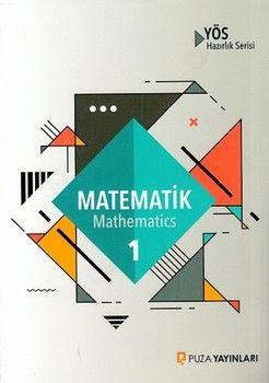 Puza Yayınları YÖS Matematik 1 Hazırlık Serisi