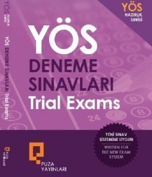 Puza Yayınları YÖS Deneme Sınavları Trial Exams