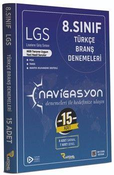 Rasyonel Yayınları 8. Sınıf LGS Türkçe Navigasyon 15 li Branş Denemeleri