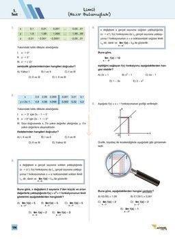 Rasyonel Yayınları AYT Matematik Navigasyon Soru Bankası