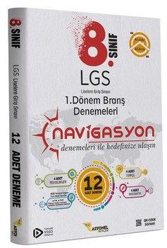 Rasyonel Yayınları 8. Sınıf LGS 1. Dönem Türkçe Matematik Fen Bilimleri Video Çözümlü Branş Denemeleri