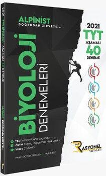 Rasyonel YayınlarıTYT Biyoloji Alpinist Aşamalı 40 Deneme