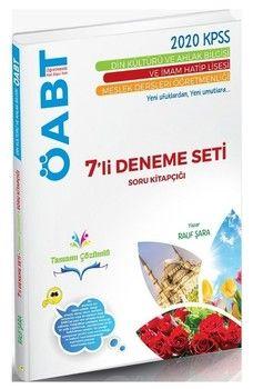 Rauf Şara 2020 KPSS ÖABT Din Kültürü ve Ahlak Bilgisi 7 li Deneme Seti