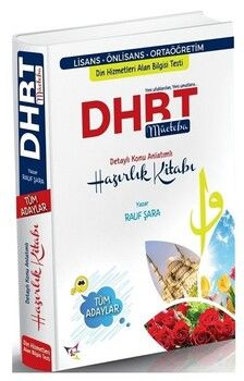 Rauf Şara 2021 DHBT Mücteba Tüm Adaylar Konu Anlatımlı Hazırlık Kitabı