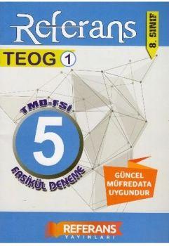 Referans Yayınları 8. Sınıf TEOG 1 Deneme 5 Fasikül