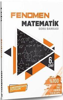 Referans Yayınları 6. Sınıf Matematik FENOMEN Soru Bankası