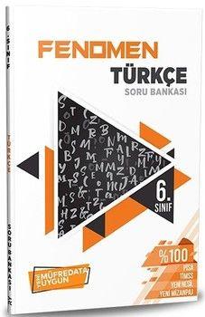 Referans Yayınları 6. Sınıf Türkçe FENOMEN Soru Bankası
