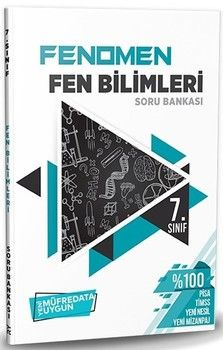 Referans Yayınları 7. Sınıf Fen Bilimleri FENOMEN Soru Bankası