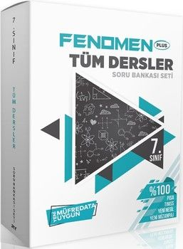 Referans Yayınları 7. Sınıf Tüm Dersler FENOMEN Soru Bankası