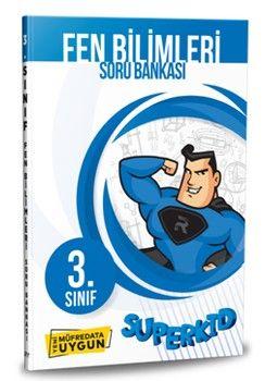 Referans Yayınları 3. Sınıf Fen Bilimleri SUPERKID Soru Bankası
