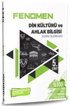 Referans Yayınları 5. Sınıf Din Kültürü ve Ahlak Bilgisi Fenomen Soru Bankası