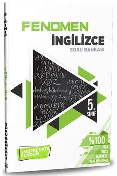 Referans Yayınları 5. Sınıf İngilizce Fenomen Soru Bankası