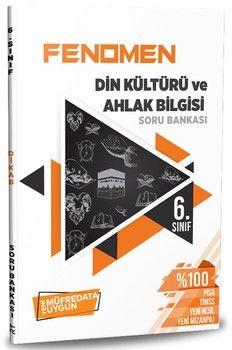 Referans Yayınları 6. Sınıf Din Kültürü ve Ahlak Bilgisi Fenomen Soru Bankası