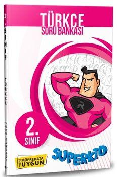 Referans Yayınları 2. Sınıf Türkçe SuperKid Soru Bankası