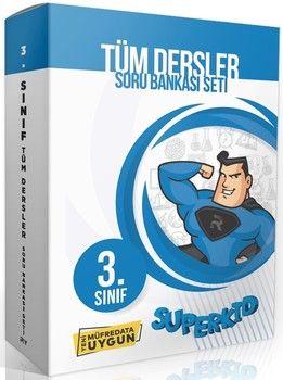 Referans Yayınları 3. Sınıf Tüm Dersler SuperKid Soru Bankası