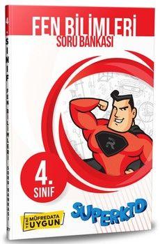 Referans Yayınları 4. Sınıf Fen Bilimleri SuperKid Soru Bankası