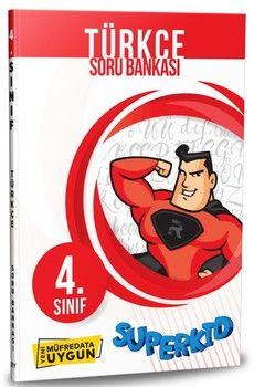 Referans Yayınları 4. Sınıf Türkçe SuperKid Soru Bankası