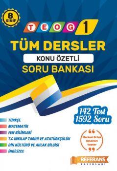 Referans Yayınları 8. Sınıf TEOG 1 Konu Özetli Soru Bankası