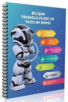 Referans Yayınları 5. Sınıf Bilişim Teknolojileri ve Yazılım Dersi