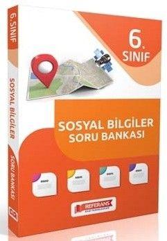 Referans Yayınları 6. Sınıf Sosyal Bilgiler Soru Bankası