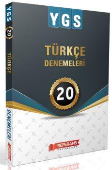 Referans Yayınları YGS Türkçe 20 Deneme Sınavı