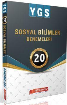 Referans Yayınları YGS Sosyal Bilimler 20 Deneme Sınavı