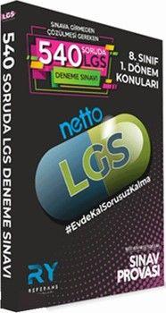 Referans Yayınları 8. Sınıf LGS 1. Dönem NETTO 6 Deneme