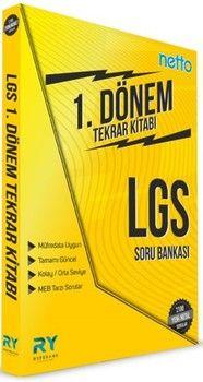 Referans Yayınları 8. Sınıf LGS 1. Dönem NETTO Soru Bankası Tekrar Kitabı