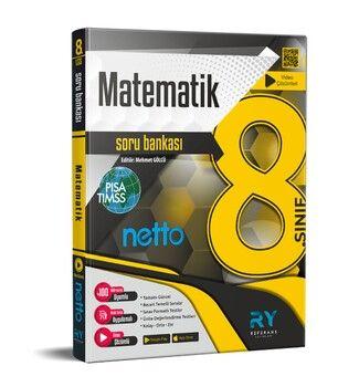 Referans Yayınları 8. Sınıf LGS Matematik NETTO Tamamı Video Çözümlü Soru Bankası
