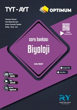 Referans Yayınları TYT AYT Biyoloji Optimum Soru Bankası