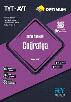 Referans Yayınları TYT AYT Coğrafya Optimum Soru Bankası