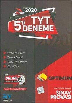 Referans Yayınları TYT Optimum 5 li Deneme Sınavı