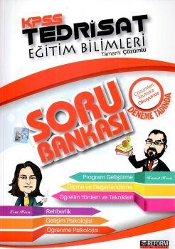 Reform Akademi Yayınları KPSS Eğitim Bilimleri Tedrisat Tamamı Çözümlü Deneme Tadında Soru Bankası