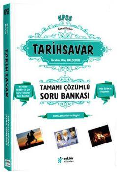 Rektör Yayınları KPSS Lise Ön Lisans Tarihsavar Tamamı Çözümlü Bilgi Notlu Soru Bankası