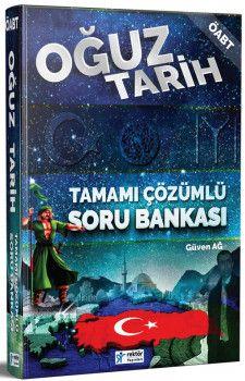 Rektör Yayınları ÖABT Oğuz Tarih Tamamı Çözümlü Soru Bankası