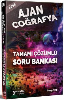 Rektör Yayınları KPSS Ajan Coğrafya Tamamı Çözümlü Soru Bankası