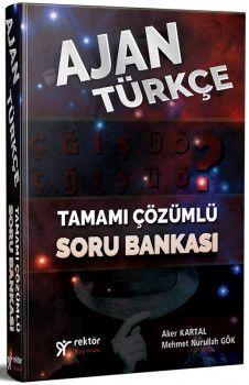 Rektör Yayınları KPSS Ajan Türkçe Tamamı Çözümlü Soru Bankası