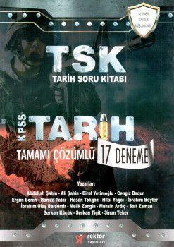 Rektör Yayınları KPSS TSK Tarih Tamamı Çözümlü 17 Deneme