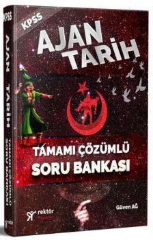 Rektör Yayınları KPSS Ajan Tarih Tamamı Çözümlü Soru Bankası