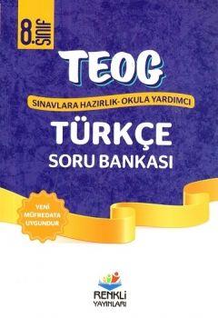 Renkli Yayınları 8. Sınıf TEOG Türkçe Soru Bankası