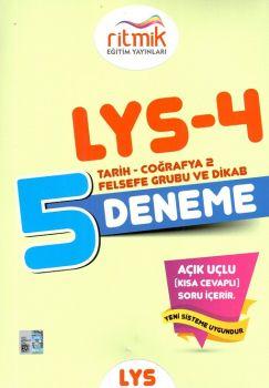 Ritmik Eğitim Yayınları LYS 4 Tarih Coğrafya Felsefe Din Kültürü 5 Deneme