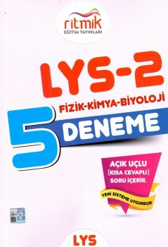 Ritmik Eğitim Yayınları LYS 2 Fizik Kimya Biyoloji 5 Deneme