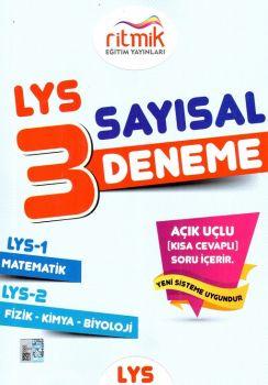 Ritmik Eğitim Yayınları LYS 1 LYS 2 Sayısal 3 Fasikül Deneme