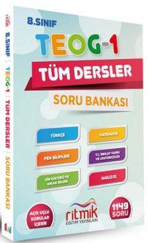 Ritmik Eğitim Yayınları 8. Sınıf TEOG 1 Tüm Dersler Soru Bankası