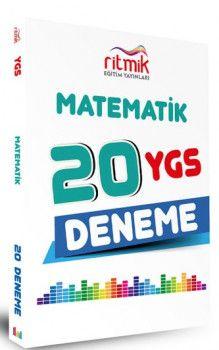 Ritmik Eğitim Yayınları YGS Matematik 20 Deneme