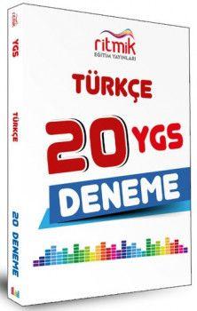 Ritmik Eğitim YayınlarıYGS Türkçe 20 Deneme