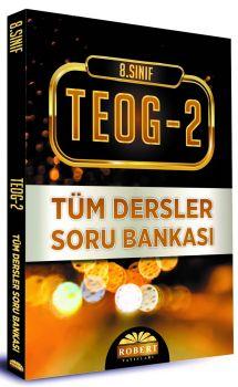 Robert Yayınları 8. Sınıf TEOG 2 Tüm Dersler Soru Bankası