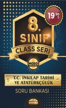 Robert Yayınları 8. Sınıf T.C. İnkılap Tarihi ve Atatürkçülük Soru Bankası Class Sersi