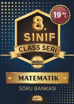 Robert Yayınları 8. Sınıf Matematik Soru Bankası Class Sersi